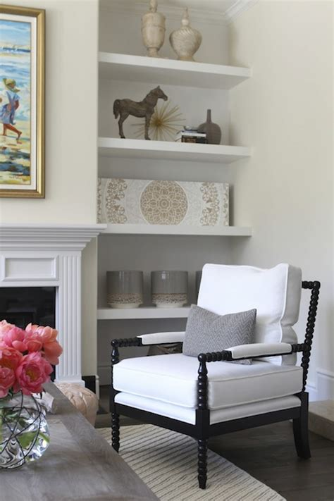 fireplace side shelves alcoves on either side of fireplace design ideas