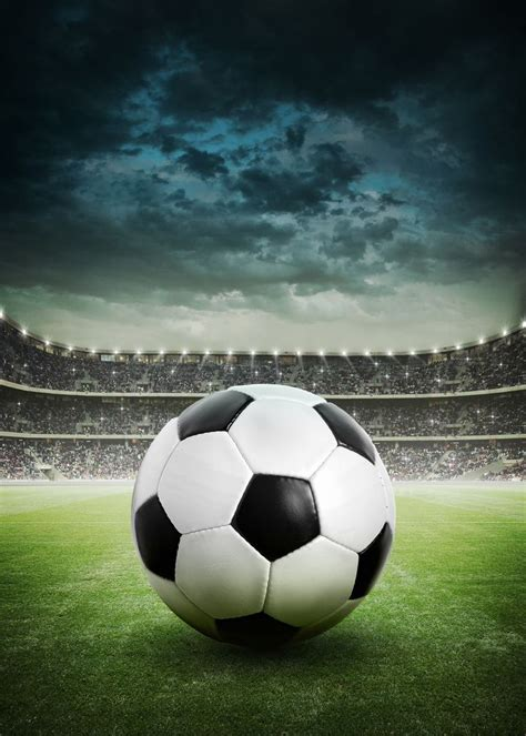 stormy soccer stadium wall mural sports soccer  lone