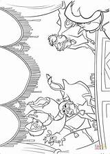 Coloring Stage Pages Theatre Range Cows Printable Coloriage sketch template