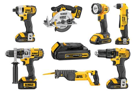 Dewalt's 20v Cordless Power Tools And Reenvisioned Hand Tools