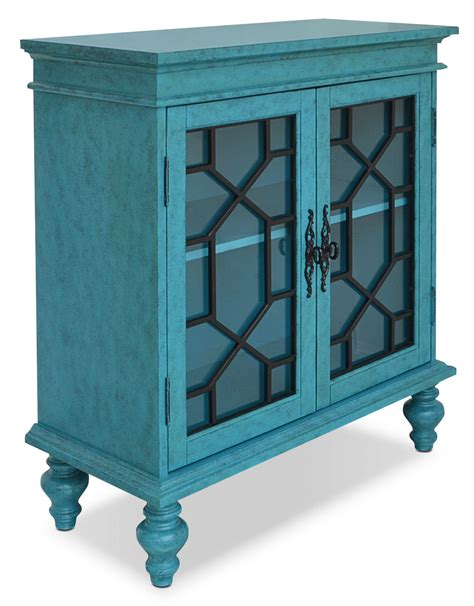 blue accent cabinet rigolet small accent cabinet blue the brick