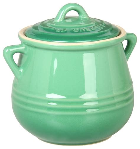 le creuset heritage mini bean pot fennel contemporary specialty cookware