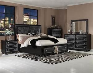 Black, Bedroom, Furniture, For, The, Elegant, Sense