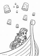 Coloring Pages Tangled Printable Cool2bkids Disney Books Printables Candid sketch template