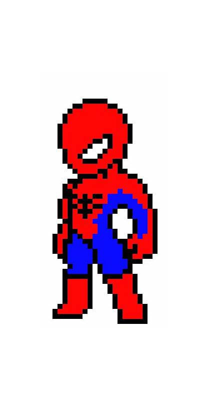 Spooderman Pixel Pixelartmaker Maker