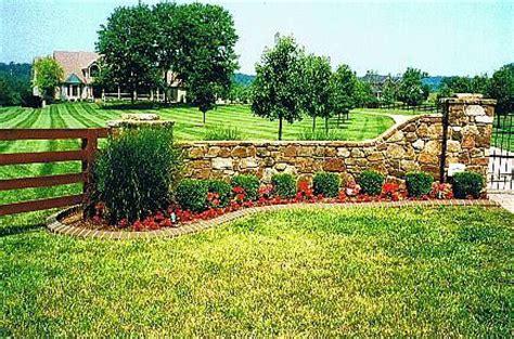 Garten Landschaft, Der Garten Mit Bunten Randsteine