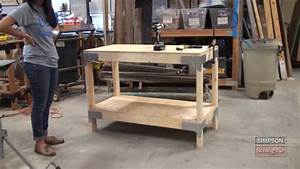 Easy-to-Build Workbench Kit - YouTube