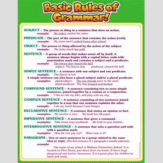 Best 25+ Grammar Rules Ideas On Pinterest  Grammer Rules, Grammar And English Grammar Rules