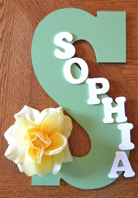Diy Bedroom Gifts by Personalized Name Baby Shower Gift Bedroom Decor