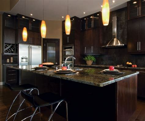 Espresso Kitchen Cabinets  Trendy Color For Your Kitchen