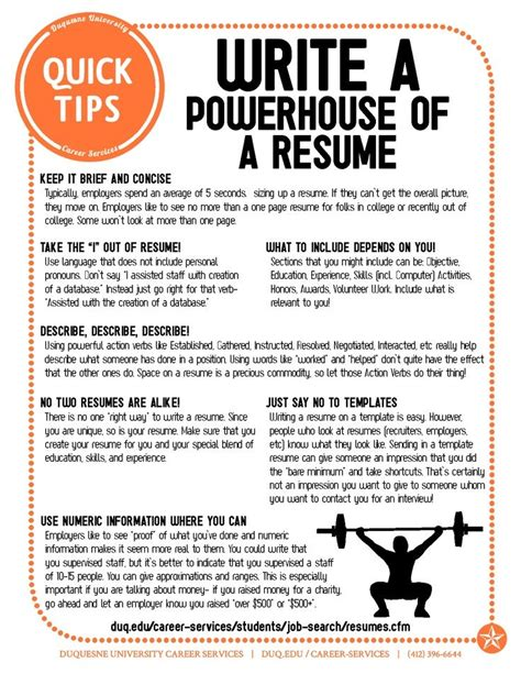 Resume Advice by Powerful Resume Tips Easy Fixes To Improve And Update