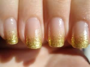 Lin s lacquer gold glitter gradient