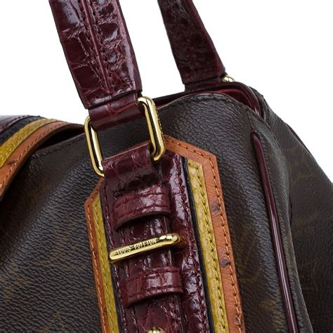 louis vuitton monogram limited edition bordeaux mirage griet exotic bag louis vuitton tlc