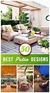 50 Best Patio Ideas For Design Inspiration for 2019 backyard design outdoor patio ideas