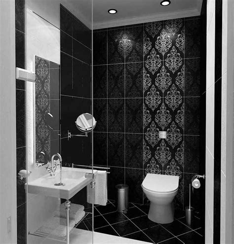 Black And White Bathroom Tile Ideas by 45 Magnificent Pictures Of Retro Bathroom Tile Design