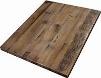 table tops wood Reclaimed Wood Straight Plank Table Tops - Economy
