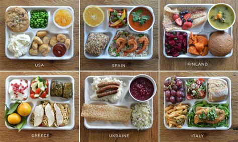 school lunches     world daily