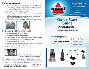 Bissell Carpet Cleaner 8920 User U0026 39 S Guide