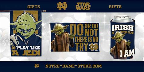 christmas gifts for notre dame fans star wars and notre dame gifts notre dame fan store