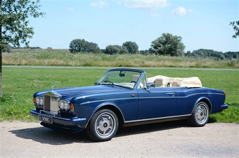Roll Royce Convertible by Rolls Royce Corniche Iv Convertible 1996 Blue Rolls