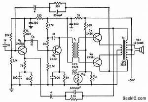 25 w class b power amplifier amplifier circuit circuit With class b amplifier