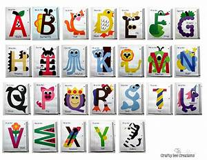 1000 images about kids crafts on pinterest letter With alphabet craft letters