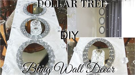 diy dollar tree glam mirror wall sconce dollar store