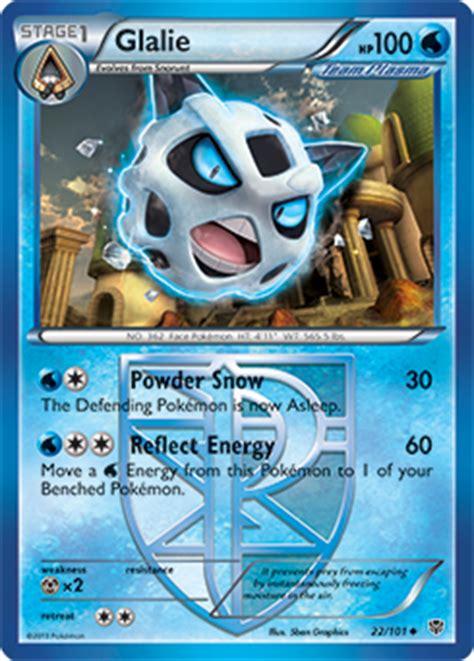 glalie  xybreakthrough tcg card  pokemoncom