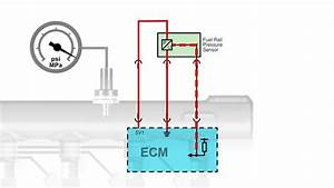 Fuel Rail Pressure Sensor Signal Voltage Low Pull Up Type
