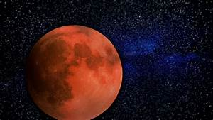 Animated One Revolution Of Planet Mars With Correct ...