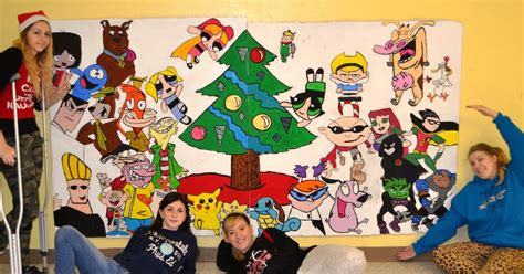 christmas art projects for middle schoolers high school community center mural lessons from the k 12 room