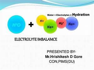 Electrolytes Imbalance