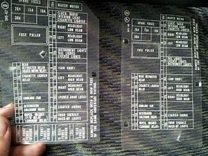 90  91 Civic  Crx Under Dash Fuse Box Diagrams