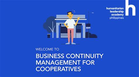 summary  business continuity management training