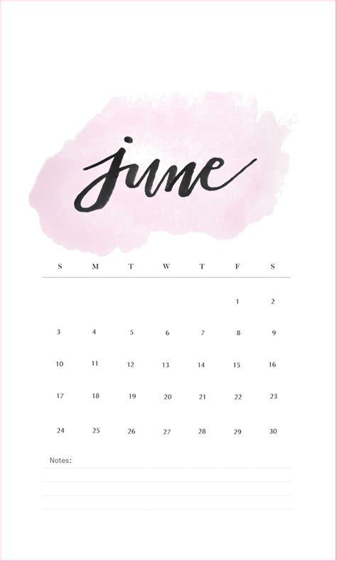 june  iphone calendar wallpaper calendar wallpaper