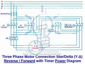 Three Phase Motor Connection Star  Delta  Y