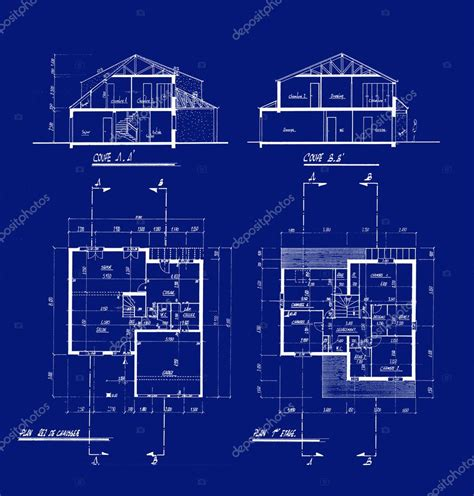house blueprints stock photo 169 franckito 2540403