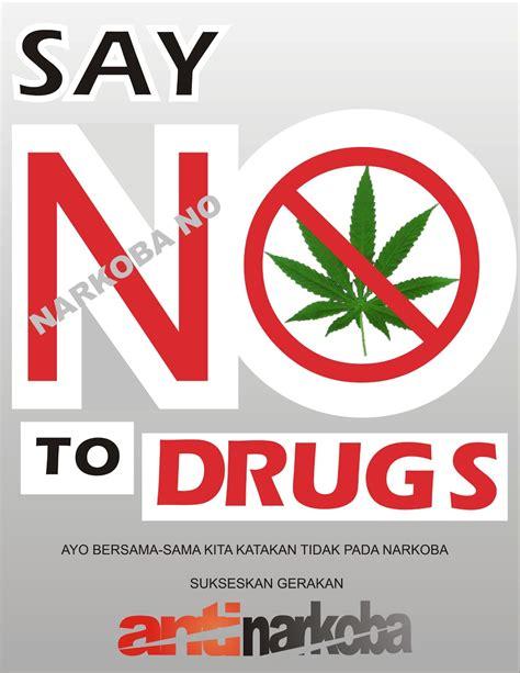 blog buku  membuat poster tentang narkoba