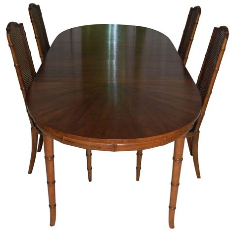 henredon faux bamboo dining set products tables and