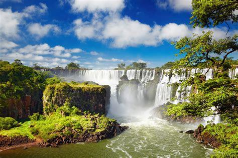 Wallpaper Iguazu Falls, Waterfall, Iguazu River, Argentina