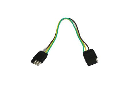 Abn Trailer Wire Extension Way Pin Plug Flat