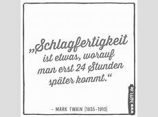 Die 15 besten Zitate von Mark Twain · Häfftde