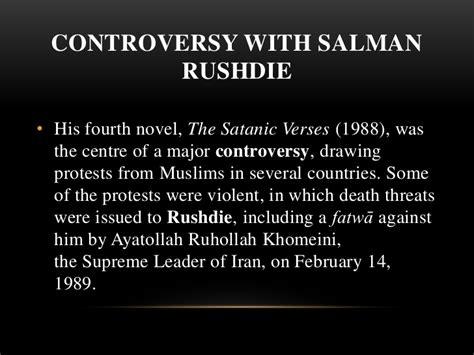 Satanic Verses Controversy Quotes