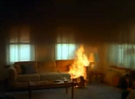 Controlled Living Room Fire (2012) On Vimeo