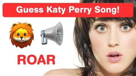 Katy Perry Emoji Challenge! Guess Pop Songs