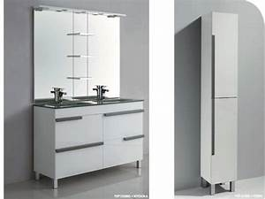 meubles lave mains robinetteries meuble sdb meuble de With porte d entrée alu avec meuble salle de bain vasque colonne