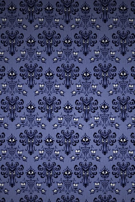 The wallpaper design is on all 4 sides of the pair. 50+ Haunted Mansion Wallpaper Stencil on WallpaperSafari