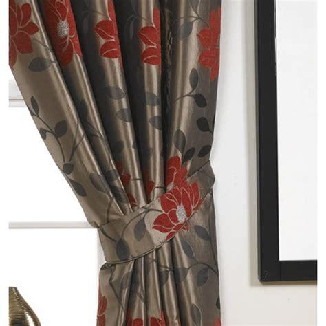 sundour carnaby floral pencil pleat ready made