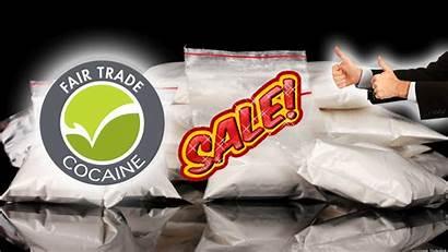Drug Dealing Imagine Cocaine Fair Trade