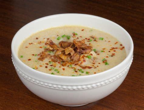 of potato soup baked potato soup recipe dishmaps